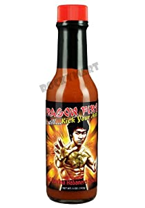 Red Savina Habanero Hot Sauce Bruce Lee Dragon Fire Karate