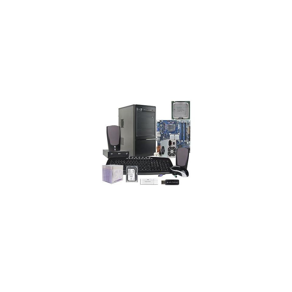 Pentium D 3.0GHz Barebones Kit w/Case, 550W PSU, Intel Motherboard, 400GB Hard Drive, DVD±RW, Keyboard, Mouse, Speakers & More