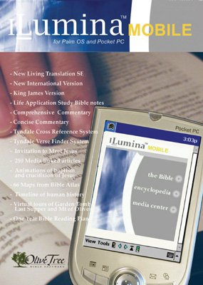 iLumina Mobile Package, with NIV, NLT, KJV, and much more (for Palm OS and Pocket PC)