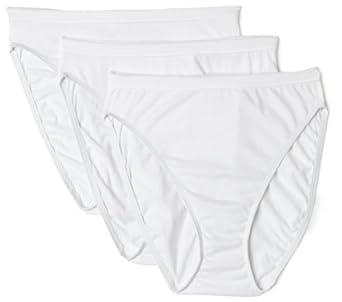 f7c2ead669db3 Hanes Women s Body Creations Microfiber Hi-Cut Panties 3 Pack Assorted
