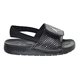 Jordan Hydro 5 BT Toddler Sandals Black/White/Cool Grey 820261-010 (6 M US)