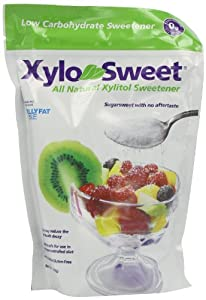 Xylosweet All Natural Low Carb Xylitol Sweetener 1.36 Kg