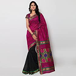 Makeway New Jacquard Design Self Butta Work Designer Saree