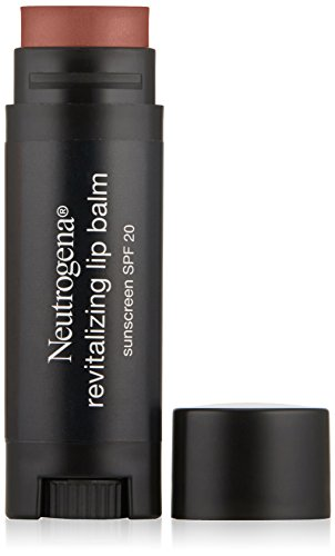 Neutrogena Revitalizing Lip Balm SPF 20, Fresh Plum , 0.15 o