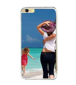 Printvisa Love Couples On A Beach Back Case Cover for Apple iPhone 6::Apple iPhone 6S