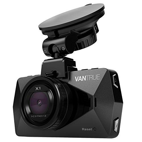 VANTRUE X1 ドライブレコーダー フル HD 1080P HDR ドラレコ 2.7インチLCD 170度広視野角 DVRビデオレコーダー 駐車監視 G−センサー機能 常時録画 駐車モード 駐車監視&暗視機能搭載