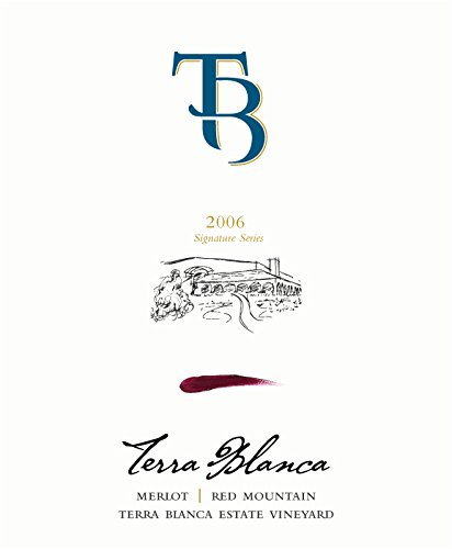 2006 Terra Blanca Signature Series Red Mountain Merlot 750 Ml