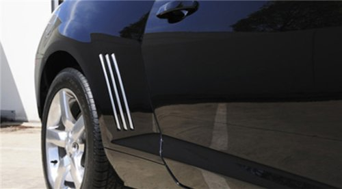T-Rex 6910082 Defenderworx Chrome Quarter Panel Side Vent - 6 Piece (2012 Camaro Louvers compare prices)