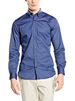 Moschino Camisa Hombre (Solid Dark Blue)