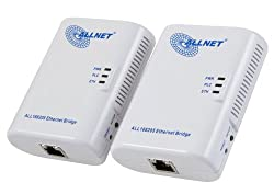 ALLNET AL168205K Home Plug 200Mbit/s Powerline Starter Kit (2 Adapter, Netzwerk aus der Steckdose) ab 25,55 Euro inkl. Versand