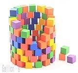 [Gallon's]ガロンズ 積み木 カラフルで小さなキューブ積み木100個