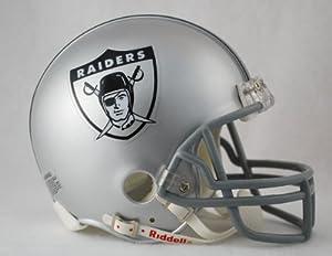 Oakland Raiders 1963 Throwback Replica Mini Helmet w  Z2B Face Mask by Caseys