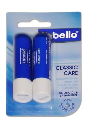 Labello Classic Care Lip Balm - Pack of two