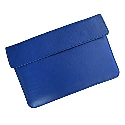 i-KitPit : PU Leather Pouch Case For Lenovo Ideatab S6000 (BLUE)