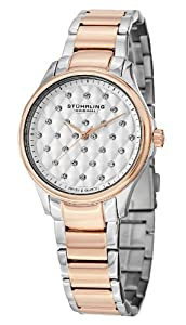 Stuhrling Original Women's 567.03 Vogue Culcita Analog Display Swiss Quartz Two Tone Watch