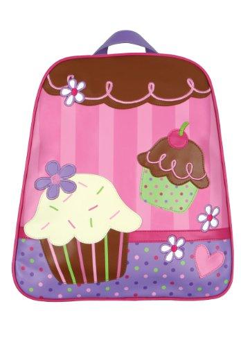 Stephen Joseph Little Girls' Little Girls' Go-Go Bag, Cupcake, One Size front-1023558
