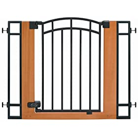 Summer Infant Metal and Wood Walk-Thru Gate