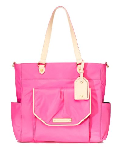 Juicy Couture Grove Hill Nylon Baby Shoulder Bag, Highlighter Pink (Juicy Couture Side Bag compare prices)