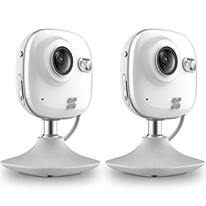 EZVIZ BCV-112 Mini HD 720p WiFi Home Security Camera (2 Pcs)
