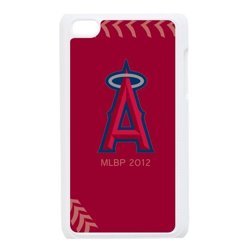 Generic Cell Phone Cases Cover For Apple Ipod Touch 4 Case Fashionable Designed With Baseball Team Los Angeles Angels Background Personalized Case front-956023