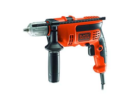 BLACK+DECKER CD714CRES-QS Trapano a Percussione, 710W