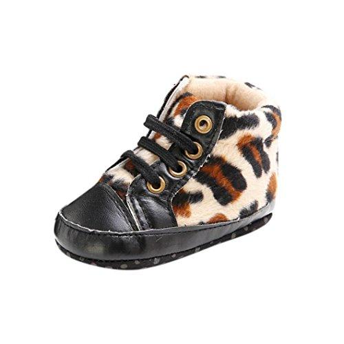 kingko® Bébé infantile garçons Fille Enfants doux Chaussures Sole Lit enfant nouveau-né