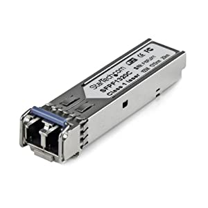 StarTech.com Cisco Compatible 100 Mbps Fiber SFP Transceiver Module SM LC with DDM - 20km (Mini-GBIC) - 1310nm 100Base-FX Single Mode SFP LC by STARTECH.COM