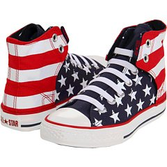 Converse Junior Chuck Taylor Easy Slip On Red/White/Blue (2)