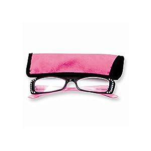 pink rhinestone 1 75 magnification reading
