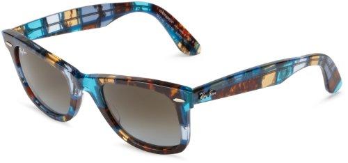 51折!雷朋Ray-Ban RB2140 Original Wayfarer Sunglasses太阳镜Azure $84.69