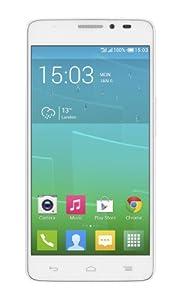 Alcatel Onetouch Idol X+ 5-Inch SIM-Free Smartphone - White (441 PPI HD Screen, 16GB ROM, 2GB RAM, Octa-Core 2GHz, Android 4.2, 13.1 MP Rear Camera)