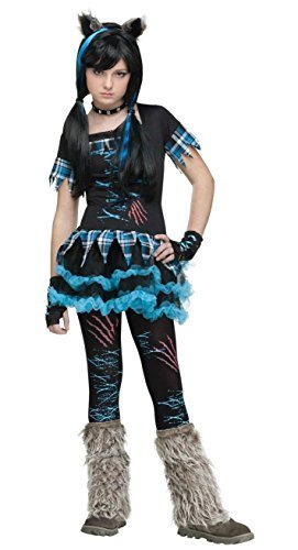 [Wick'd Wolfie Teen Costume by Fun World] (Wickd Wolfie Teen Costumes)