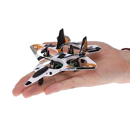 Top Race® 5 Inch Micro F22 Stunt Fighter Jet, 4 Channel RC QuadCopte