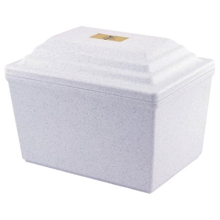 Guardian Urn Vault in White (Burial Urn Vault compare prices)