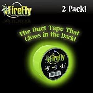 Firefly Glow In the Dark Duct Tape 2 Pack