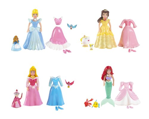 Buy Low Price Mattel Disney Princess Favorite Moments 4-Pack Giftset Figure (B000PM1KC0)