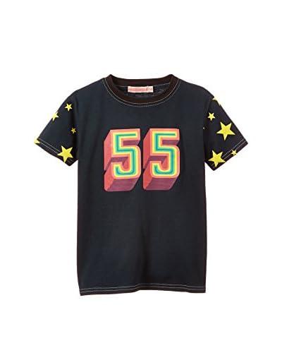 Dandy Star T-Shirt Manica Corta [Blu Scuro]