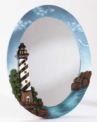 Lighthouse Motif Mirror