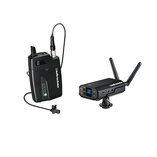 Audio-Technica System 10 ATW-1701/L Portable Camera Mount Wireless Lavalier System