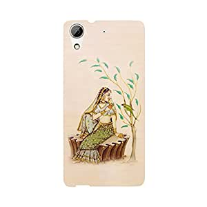 Phone Candy Designer Back Cover with direct 3D sublimation printing for HTC Desire 626