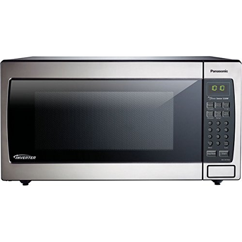 Panasonic NN-SN766S 1.6-cubic foot 1250-watt Genius Sensor Microwave Oven with Inverter Technology (Panasonic Microwave Oven Part compare prices)