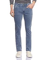Lawman Men's Slim Fit Jeans (8907201978393_K-DNA-3STR SLMFT GRIC_34W x 34L_Grey)