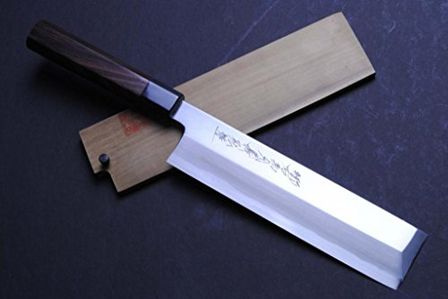 galleon yoshihiro high carbon blue steel hongasumi edo usuba japanese vegetable chef 39 s knife. Black Bedroom Furniture Sets. Home Design Ideas