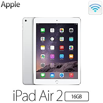 Apple iPad Air 2 Wi-Fiモデル 16GB MGLW2J/A