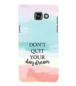 EPICCASE Keep day dreaming Mobile Back Case Cover For Samsung Galaxy A3 (Designer Case)