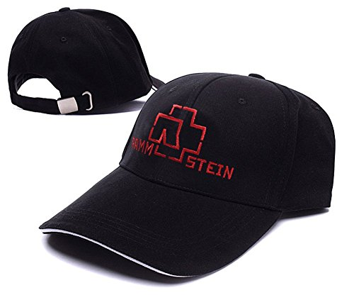 dongf-rammstein-heavy-metal-rock-band-logo-adjustable-baseball-caps-unisex-snapback-embroidery-hats