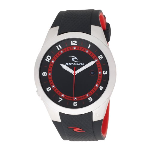 Rip Curl Men's A2376-BLK Beacon Polyurethane Black Watch