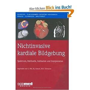 eBook Cover für  Nichtinvasive kardiale Bildgebung Spektrum Methodik Indikation und Interpretation