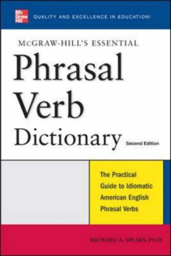 Essential Phrasal Verbs Dictionary