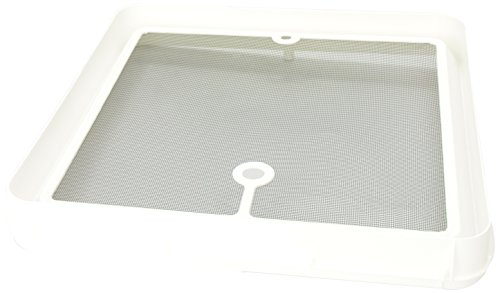 Heng's JRP1124R Radius Corner Screen for Jensen Roof Vents - White (Rv Vent Screen compare prices)